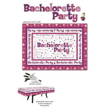 [club-location-field field='location_city'] BACHELORETTE PARTY TABLECLOTH