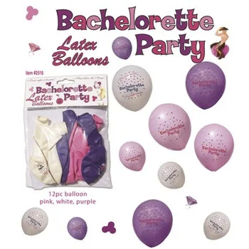 Houston bachelorette party 12pc balloon pack
