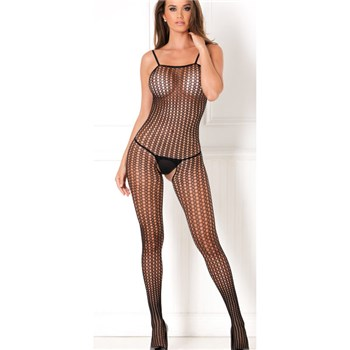 Houston Seamless Crochet Net Bodystocking